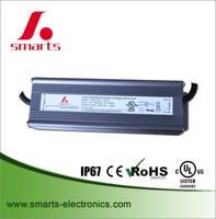 120W IP67 Outdoor Using waterproof electronic Constant Voltage LED AC DC 12v 24v power dimmable led driver