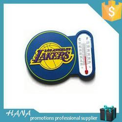 Low price promotional rubber fridge magnet with white board