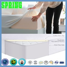 Spring Bedding Hypoallergenic 100% Waterproof Mattress Protector, Water Resistant, Preserves Mattress (Queen)