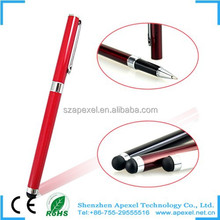 capacitive stylus touch 2 in 1 with ball pen