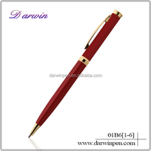 Hot sale latest style twist promotional wholesale cheap set gift metal pen