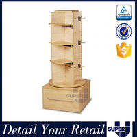 lighted rotating display stand case rotating shelf