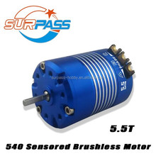 Competition level 540 sensored 5.5T brushless motor for rc electric car