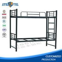 Strong cheap queen bed frame double decker metal bed metal bunk bed