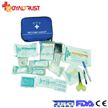 Portable pet first aid kit