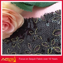 glitter textile for decoration fabric holiday lamp post decorations
