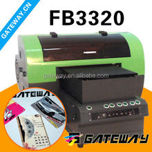 A3 digital flatbed printer for portable power source of notebook/phone/Apple