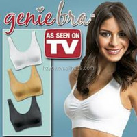 Manufacturer Wholesale Hot Selling Push Up Genie Bra, sport bra