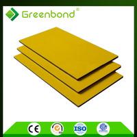 Greenbond light reflect aluminum panel panneau composite guangzhou acp sheet