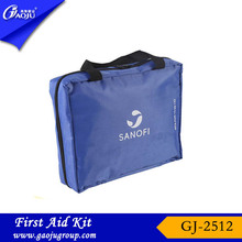 Guarantee of in time delivery convenient carry car first aid kit with ce certificate