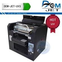 Digital UV printing machine printer for printing on plastic like phone case/cards /pen/ bottle