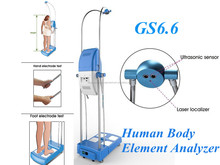 New Design GS6.6 Body Fat Controller Quantum Resonance Magnetic Analyzer Body Composition Scale