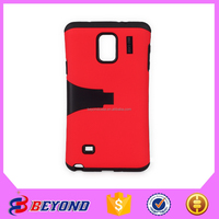 Wholesale China cheap phone case for Samsung Galaxy note 4 TPU PC 3 in 1 armor case for Galaxy note 4 mobile accessories