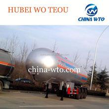 59.6 cbm 3 axles lpg gas tanker cement tanker truck trailer/bulk cement tanker