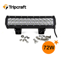 Wholesale top quality and reasonable price 72w off road led light bar used as truck tractor offroad suv atv driving light bar