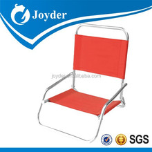 steel Camping relax chair with strong arms folding Siesta chair