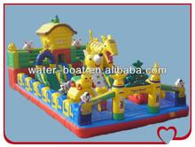 tiger inflatable amusement park