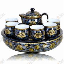 TG-405D232-B-6 glass pot 1207 with low price tibetan buddhist mala beads