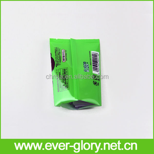 Moisture proof and CMYK biodegradable OPP.PE packaging plastic pouches