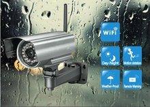 convert analog cctv to ip camera 300K Pixels CMOS Sensor P2P Motion Detection Nightvision 24 IR lights