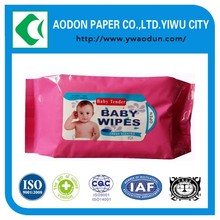 Wet Wipe Manufacturer Individually Wrapped Antibacterial Baby Wet Wipe