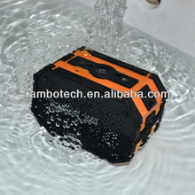Wireless Bluetooth waterproof speaker with powerful sound and fashionable design