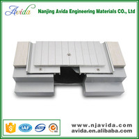Exterior extruded aluminum expansion joints manufacturers for concrete floor