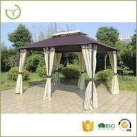 Six pillars wrought iron gazebo/garden gazebo
