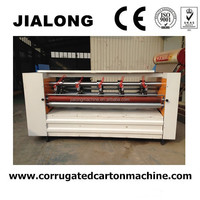 thin blade slitter score machine,partition paperboard and line creasing ,corrugated carton machine
