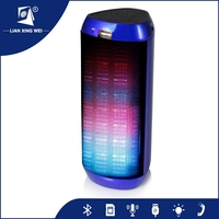 T2219 portable active bluetooth music player portable stereo digital speaker microphone