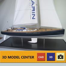 700mm Sailing boat yacht model