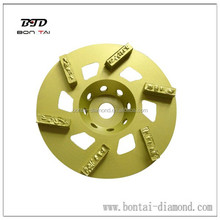 PCD diamond grinding disc for removal expoxy