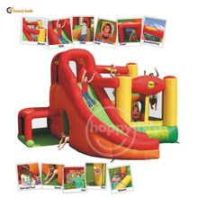 Children's Playground Castle Balloon Slide and Bouncer-9206 11 in 1 Play Center Home Use Inflatables