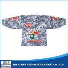 Cheap custom design slim fit digital printing ducks ice hockey jersey