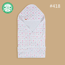 Baby clothing accessories Cotton dot printing blanket kids cotton Comforter