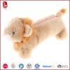Sedex ICTI factory cute animal shape plush pencil case