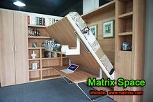Ahorro de espacio muebles, Transformable muebles de madera, Inteligente muebles