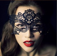 Hot Sexy Lace Mask Masquerade Fancy Costume Party Ball Hollow Flower Eye Mask Q04