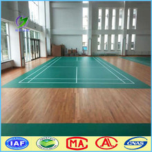 Vinyl removable PVC badminton court PVC vinyl flooring