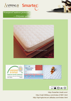 Polyester ultrasonic quilting waterproof fabric for mattress cover