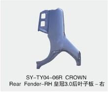 Auto Car metal body parts rear FENDER for TOYOTA CROWN