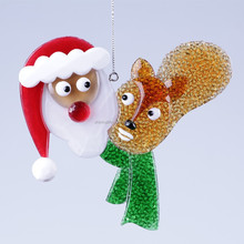 2015 new style Santa and Squirrel Christmas decoration