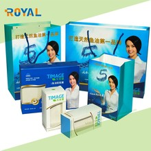 Hot Sale white paper box packaging with LOGO printed