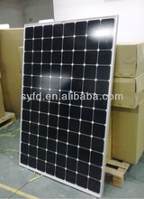 HOT SALES!!! 240W sunpower panel solar using American sunpower solar cell with TUV IEC CE RoHS certified