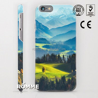 Guangzhou phone case manufacture customize 3D sublimation printing cellphone case cover for iphone 6