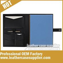 executive folder black color with flip button manufacturer in china
