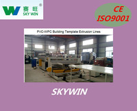 NANJING SKYWIN DURABLE PVC CRUST FOAMED WPC BUILDING TEMPLATE EXTRUSION LINE