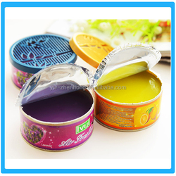 Various of smells gel air freshener for home or car