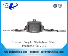 stainless steel quick coupling with rubber gasket seal Type DC
