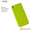 Korea brand jelly pure color case for iPhone 5 cover, soft TPU case with retail package